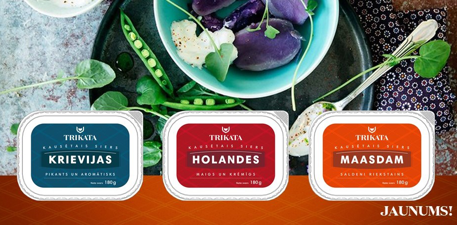 New from TRIKATA – delicious and nuanced processed cheeses!